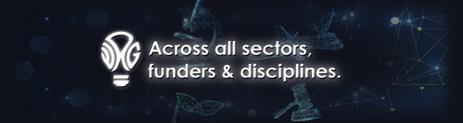 Across all Funders, Sectors, and Disciplines.